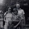 С родителями и Инной